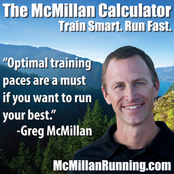 McMillan Running Calculator