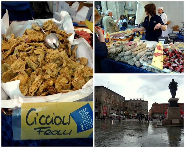 Market Piazza Guiseppe Garibaldi Parma