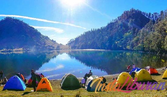 InstaLiburan - Ranu Kumbolo Danau Indah Di Lereng Gunung Semeru