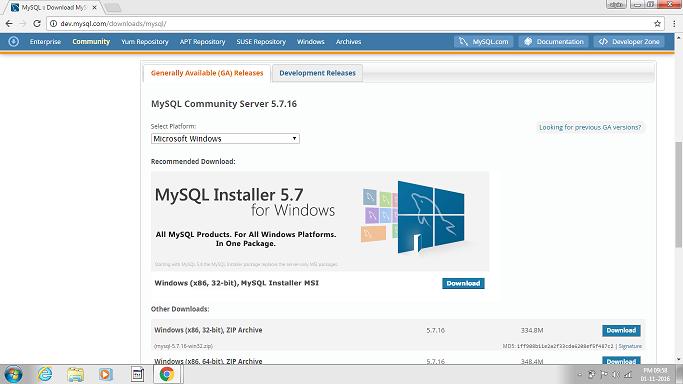MySQL in Hindi - Installing MySQL - Best Hindi Tutorials