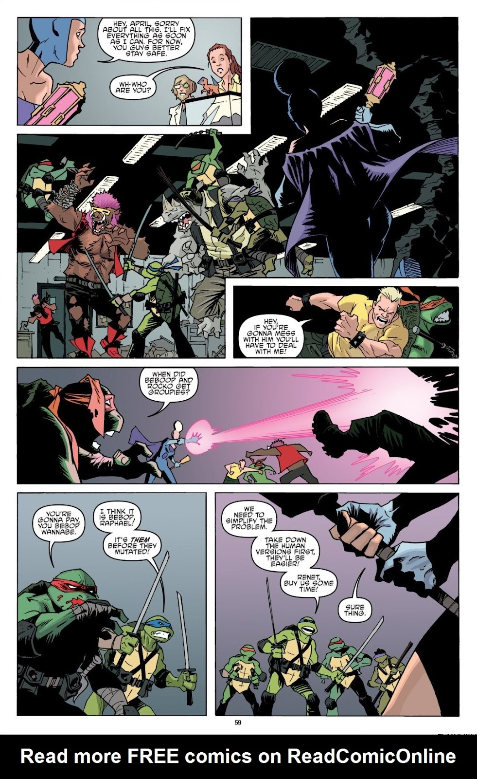 Read online Teenage Mutant Ninja Turtles: The IDW Collection comic -  Issue # TPB 8 (Part 1) - 59