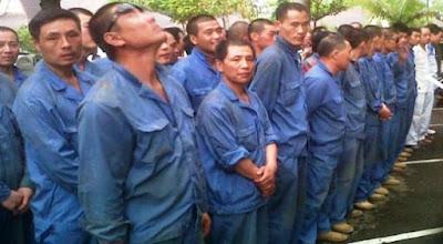 Maraknya Buruh China Ilegal, Bukti Blundernya Kebijakan Pemerintah Jokowi Dan Makin Sengsaranya Pribumi !