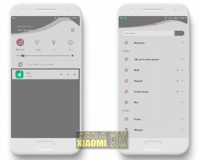Download Tema Lonely Mtz Untuk Merubah dan Ganti tampilan Tema di MIUI