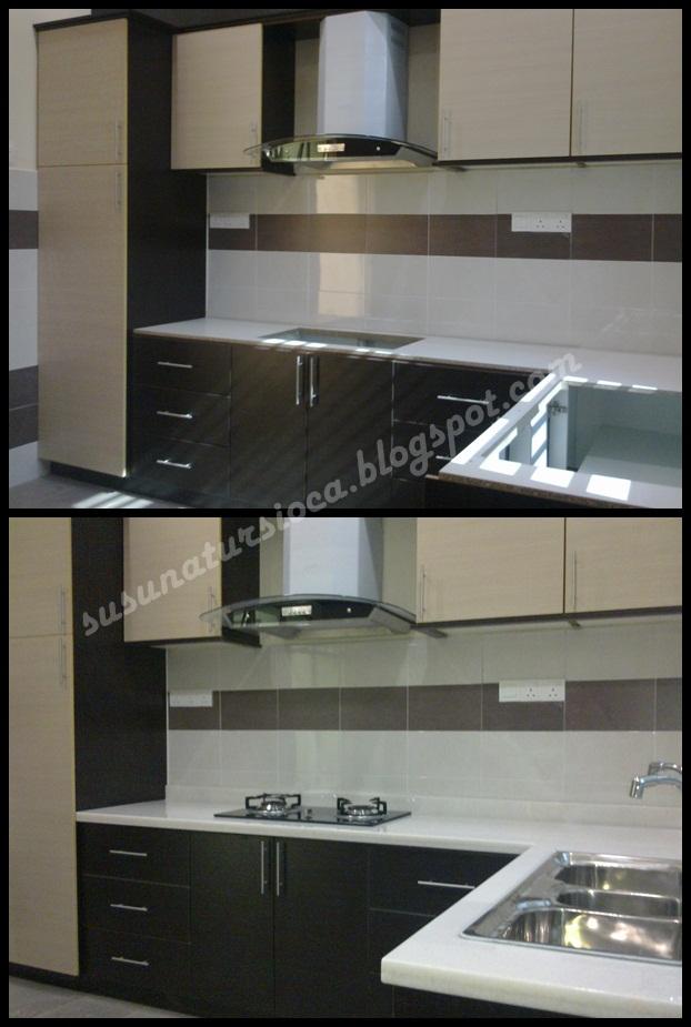 Sebelum Dan Selepas Dipasangkan Counter Top Hob Sinki Tu Ada Cerita Terbaru Tapi Next Entri Laa Ye