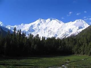 pemandangan indah daerah Kashmir