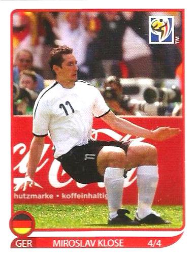 PANINI WORLD CUP 2010-Miroslav Klose