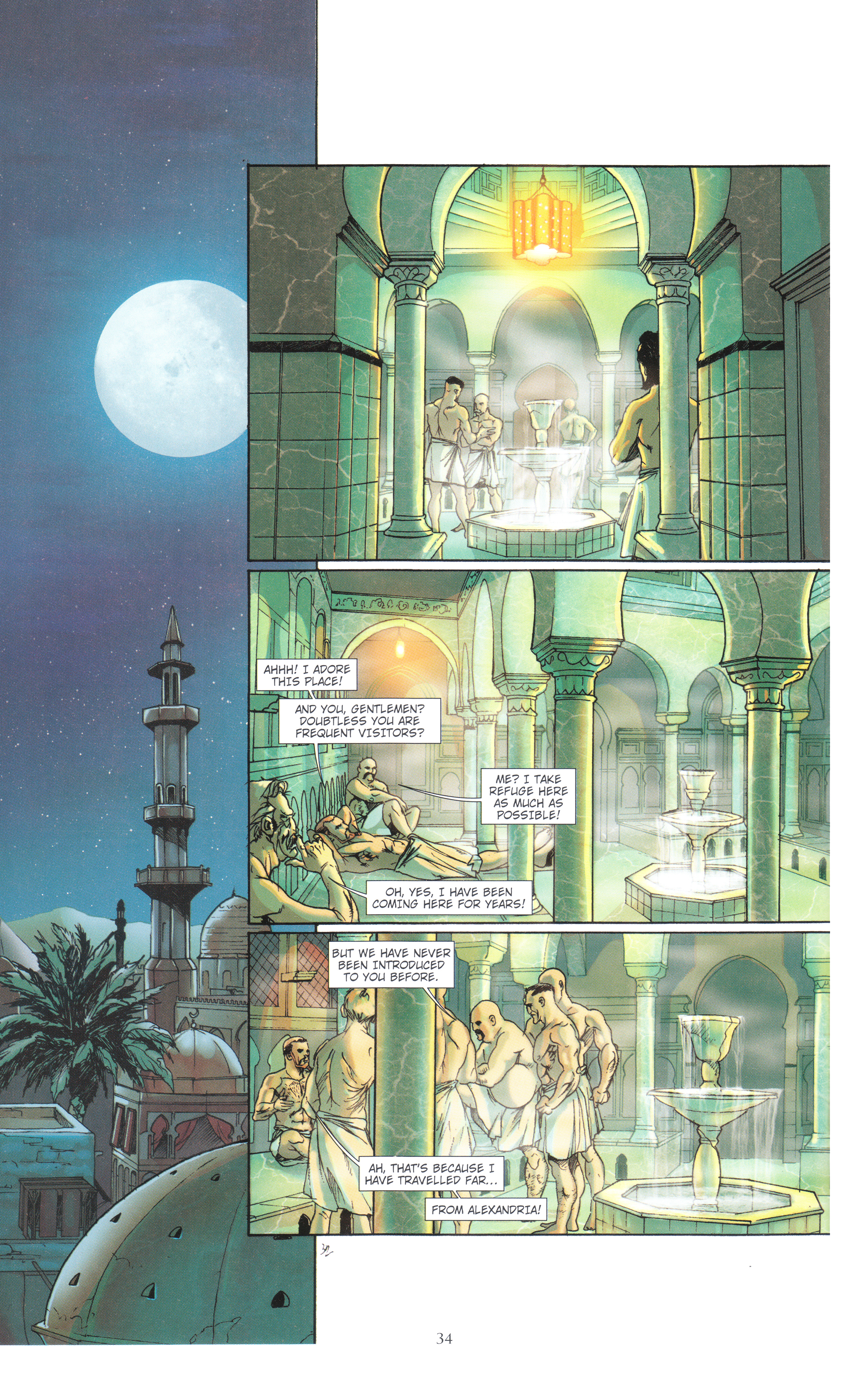 Read online Assassin's Creed (2012) comic -  Issue #4 - 34