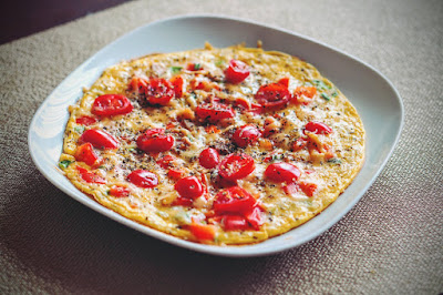 Omlet a la pizza