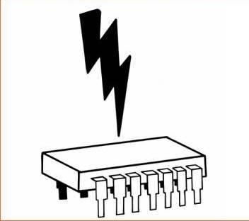 اضرار الكهرباء الساكنة علي القطع الالكترونية
