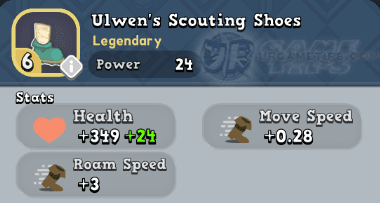 World of Legends - Ulwen's Scouting Shoes