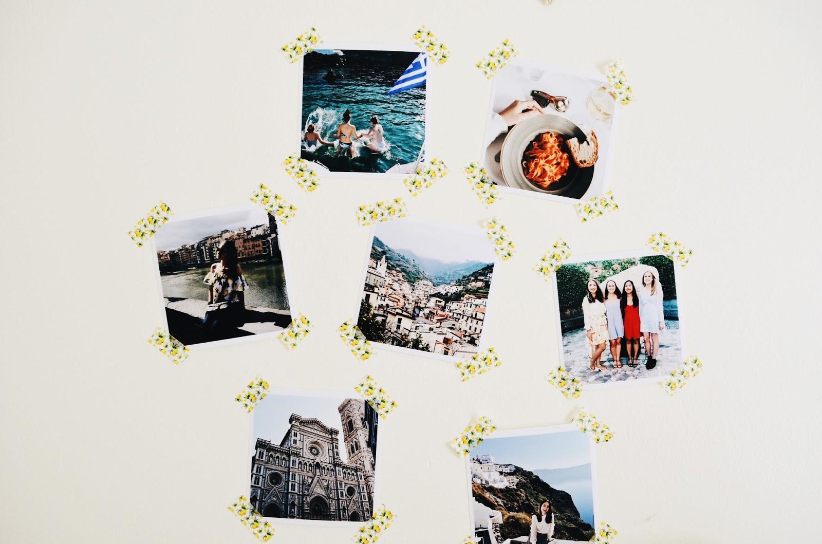 Ways to Display Your Travel Photos