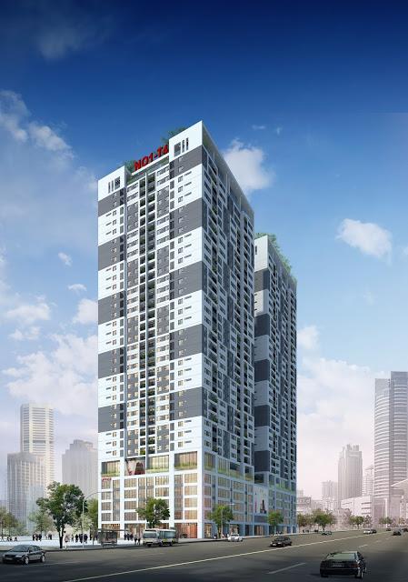 Phối cảnh chung cư Phú Mỹ Complex