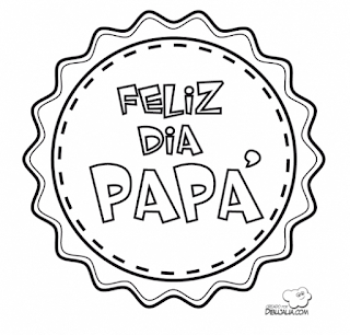 Medallas para el Día del Padre para colorear ~ Dibujos