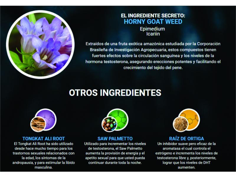 Tratamiento homeopático amazónico para la disfunción eréctil
