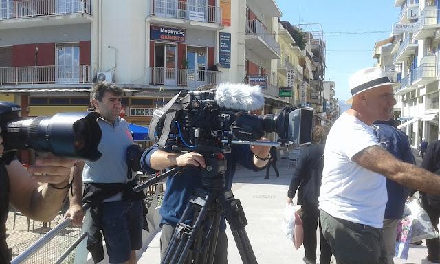 Τηλεοπτικό συνεργείο της Αυστραλίας για το όμορφο κέντρο του Άργους