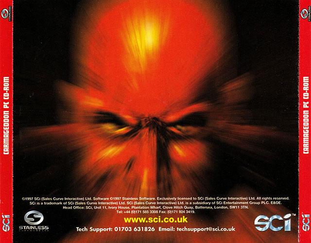 Carmageddon Carátula CD 2