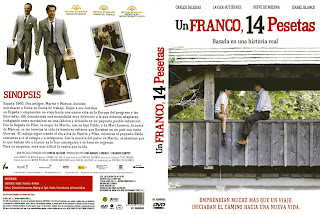 Один франк, 14 песет / Un franco, 14 pesetas.
