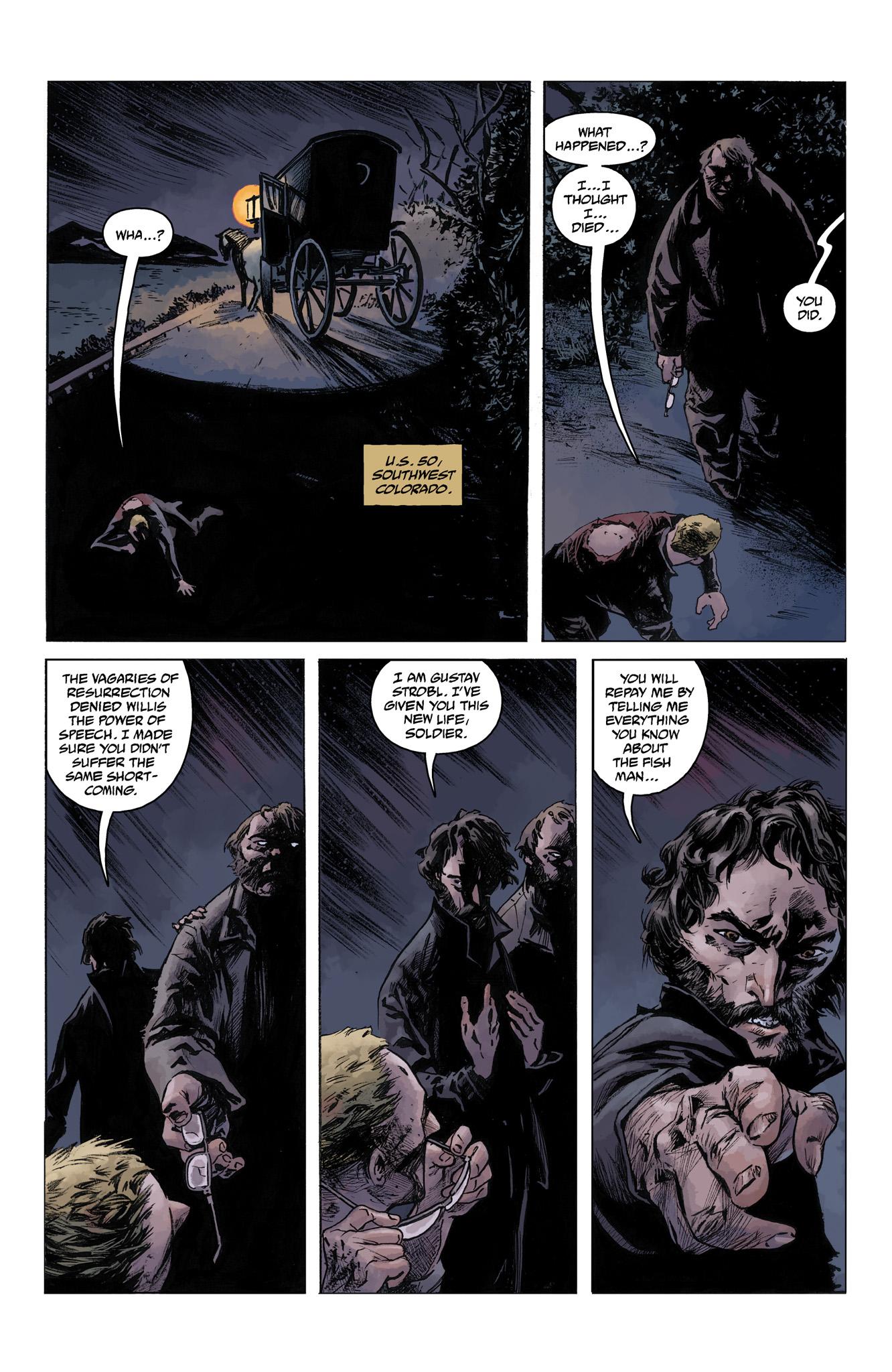 Read online Abe Sapien comic -  Issue #4 - 4