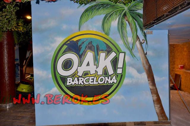 Logo discoteca Oak Barcelona