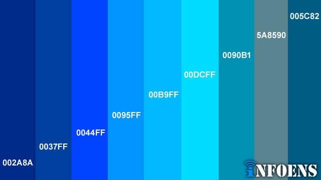 Best Blue Color Palettes