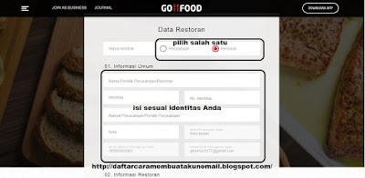 daftar restoran di go food