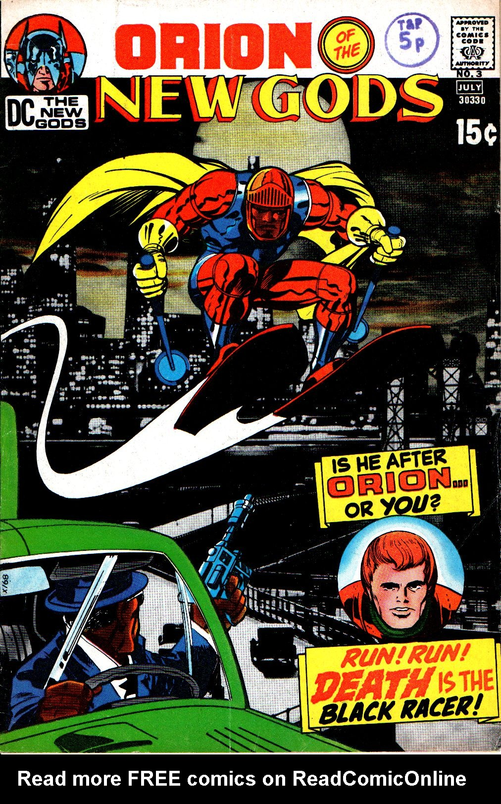 The New Gods (1971) issue 3 - Page 1