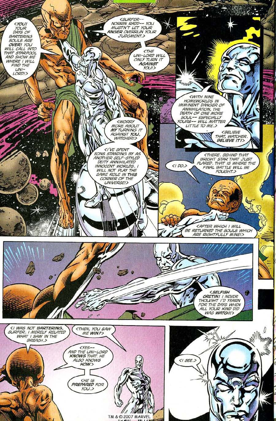 Read online Silver Surfer (1987) comic -  Issue #119 - 20