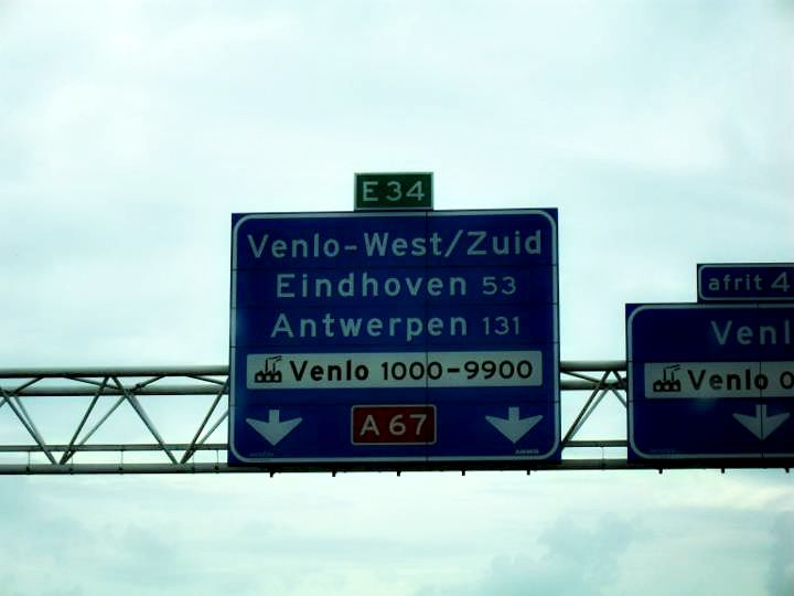 on the road in the netherlands