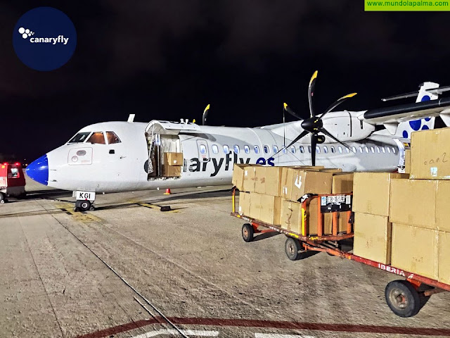 Canaryfly se abre al transporte internacional de mercancías