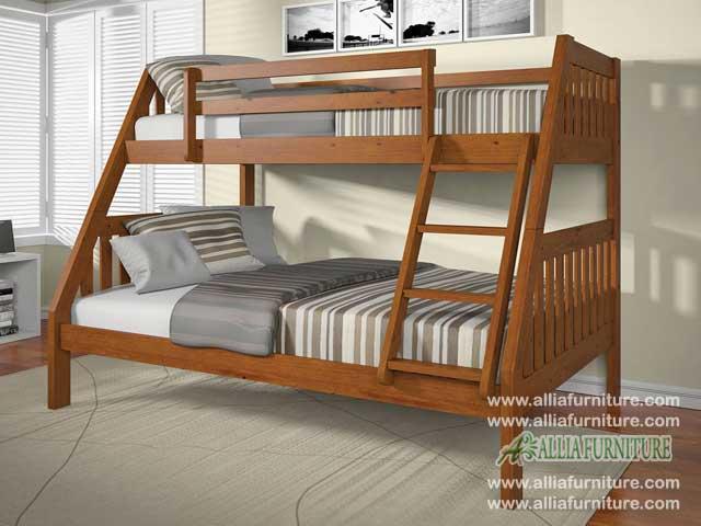 tempat tidur anak susun model mapel