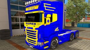 Blue King for Scania RJL