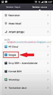 Langkah Bagaimana Cara Masuk Akun Google Saya di Hp Android