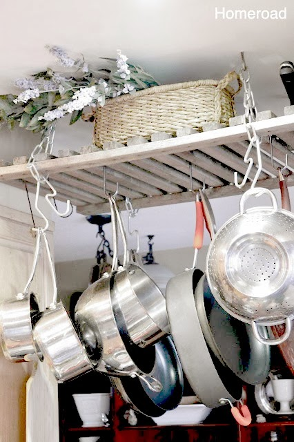 Diy Wooden Pot Rack Homeroad