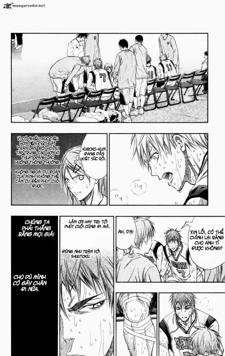 Kuroko No Basket chap 130 trang 7