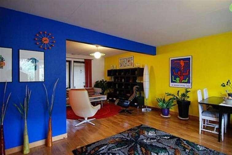 warna cat interior biru 1