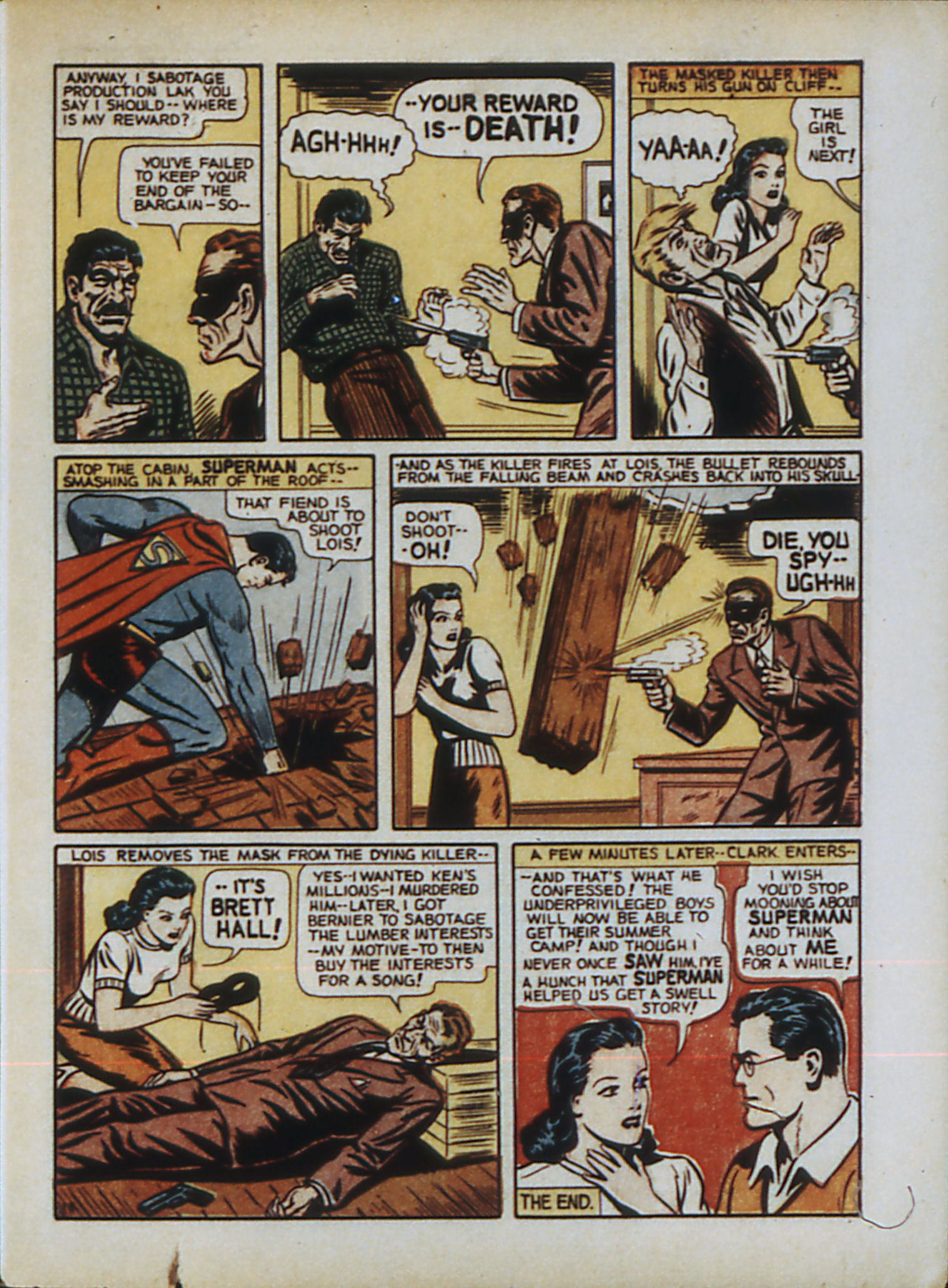 Read online Action Comics (1938) comic -  Issue #33 - 16