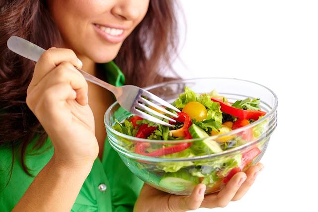 gezond eten salade