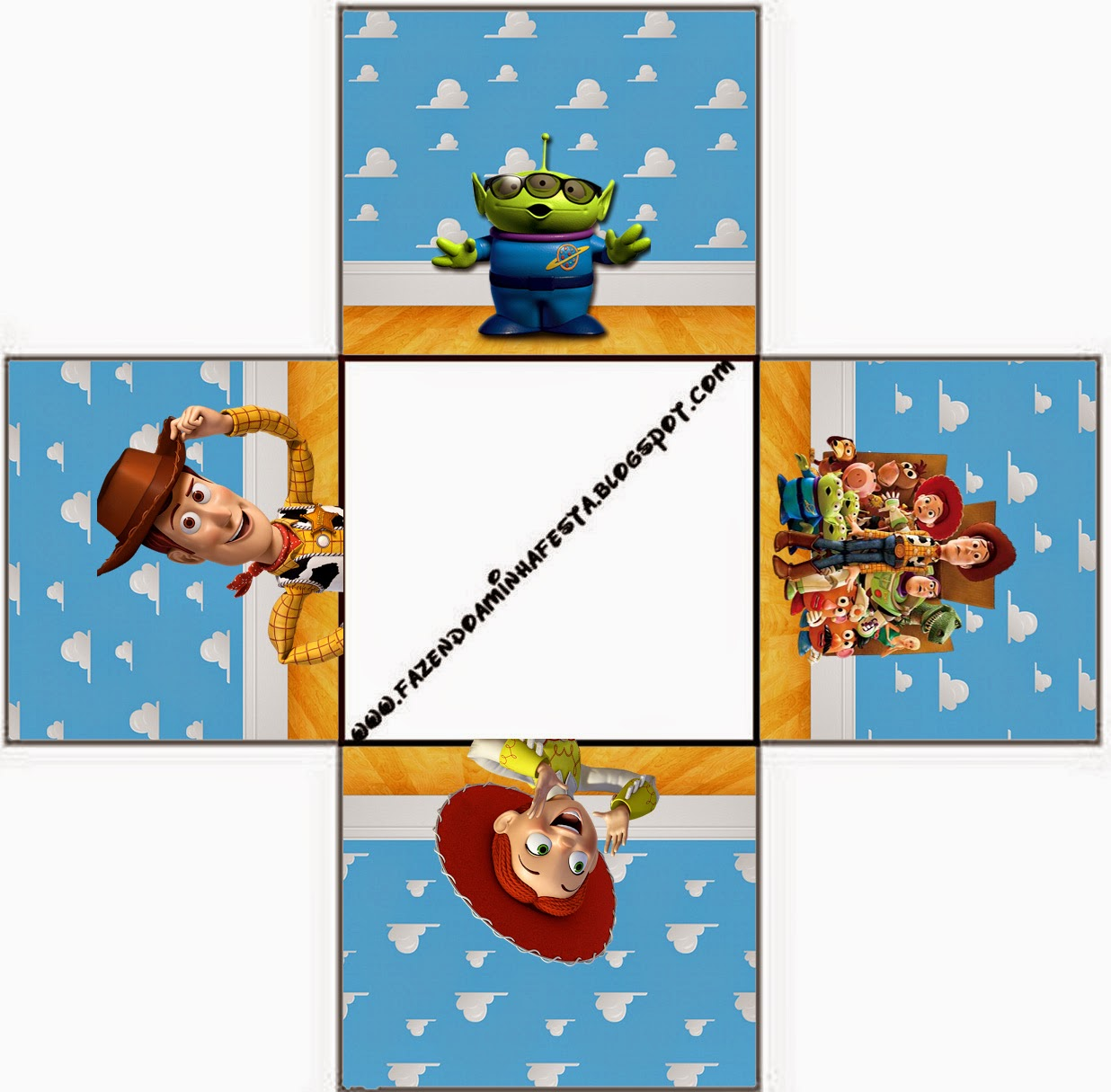 Toy Story 3 Free Printable Boxes