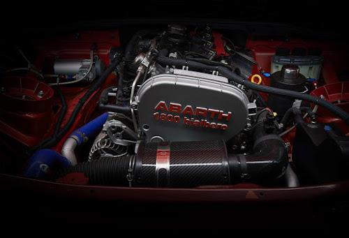 Abarth 124 Rally Engine