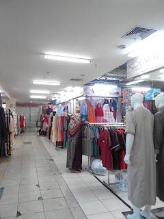 Mau cari gamis wanita atau pria? Adadonk di Thamrin City ini (dok. pribadi)