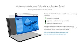 Microsoft Windows Defender Protection Firefox and Chrome