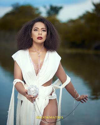 #BBNaija's TBoss in stunning new shoot