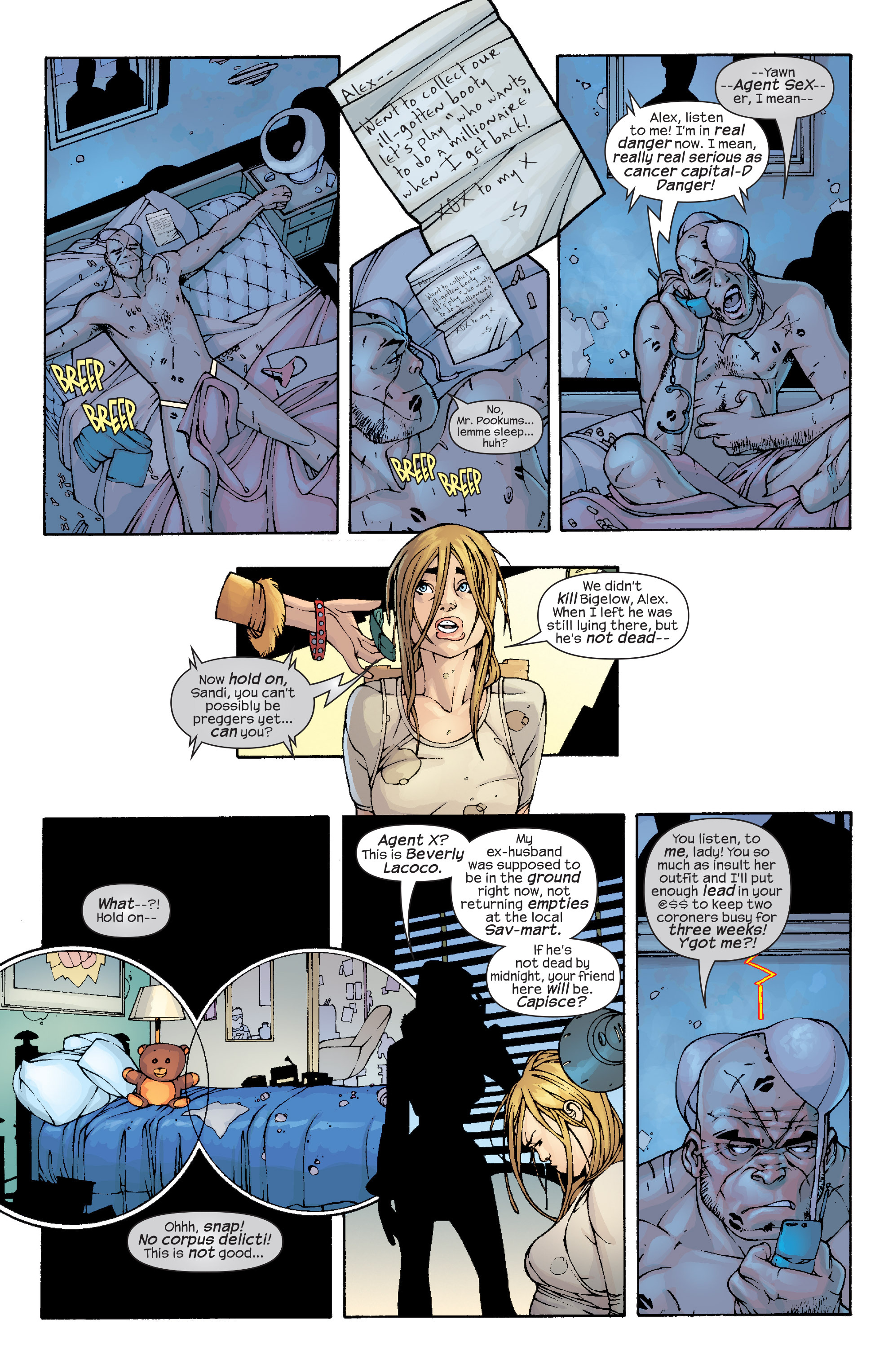 Read online Agent X comic -  Issue #10 - 11