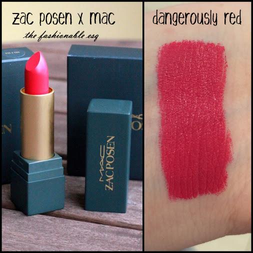 Zac Posen Lipstick swatch