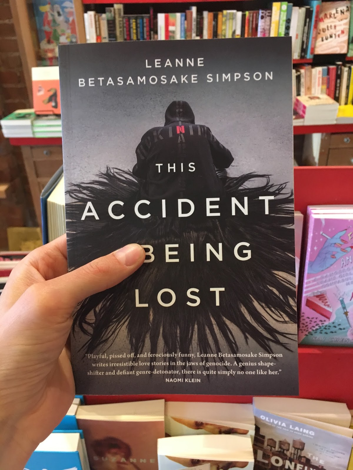 this accident of being lost simpson pdf