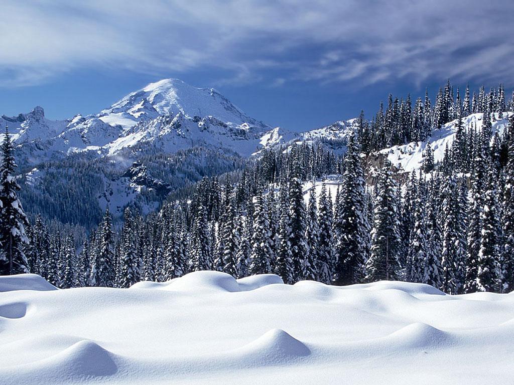 beautiful snow mountain hd - photo #13