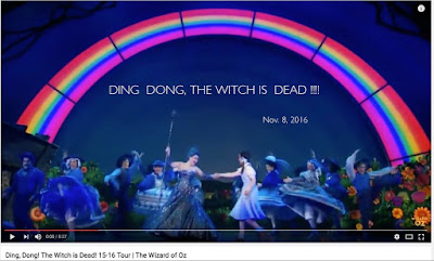 Hillary Clinton's Defeat - Ding, Dong the Witch is Dead !