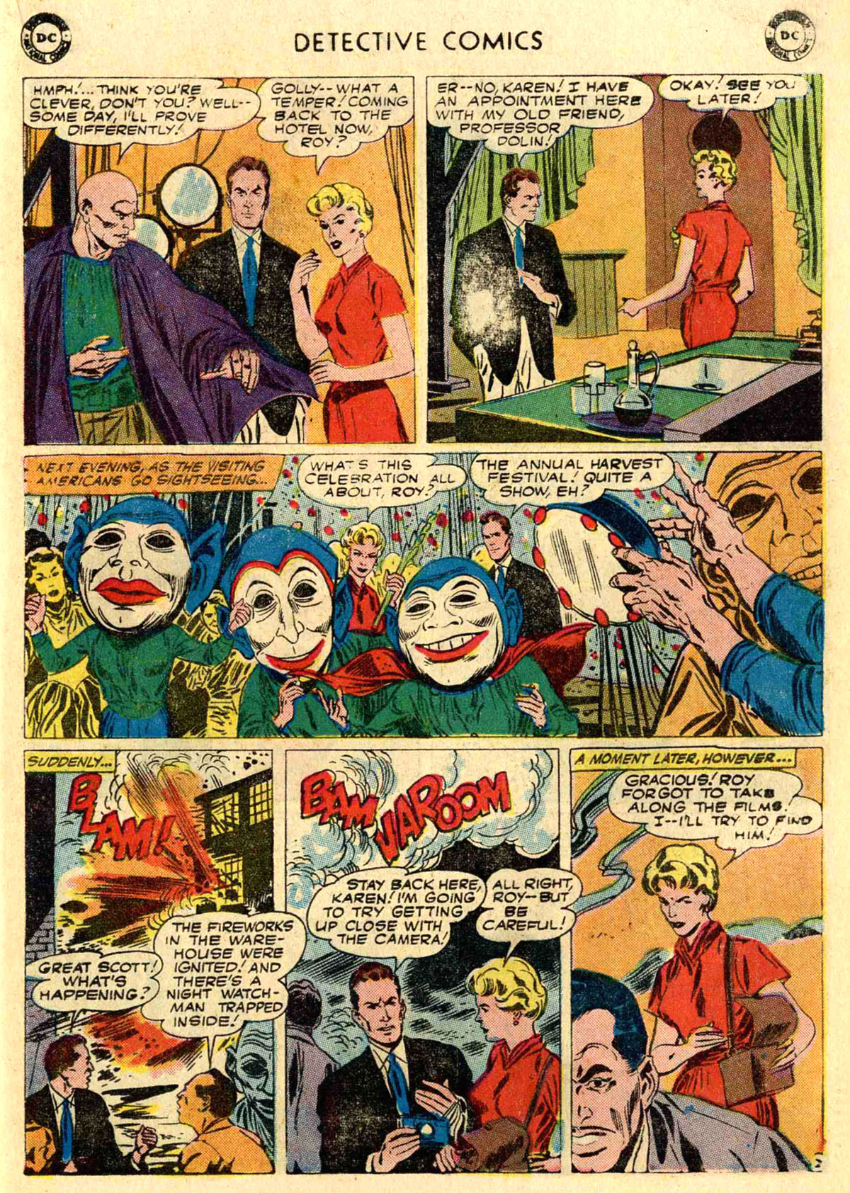 Read online Detective Comics (1937) comic -  Issue #272 - 19