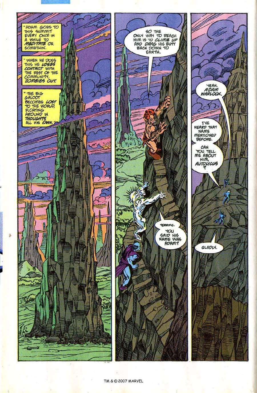 Read online Silver Surfer (1987) comic -  Issue #46 - 16