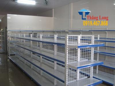 Lắp đặt giá kệ siêu thị tại Hưng yên giá rẻ